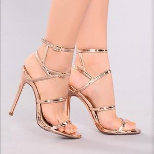 Caged In Heel - 4 1/2 inch